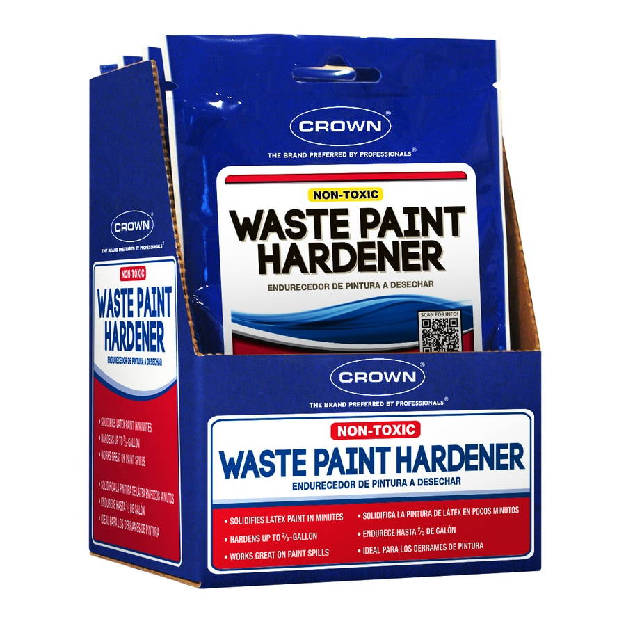 Crown 3.5Oz Waste Paint Hardener