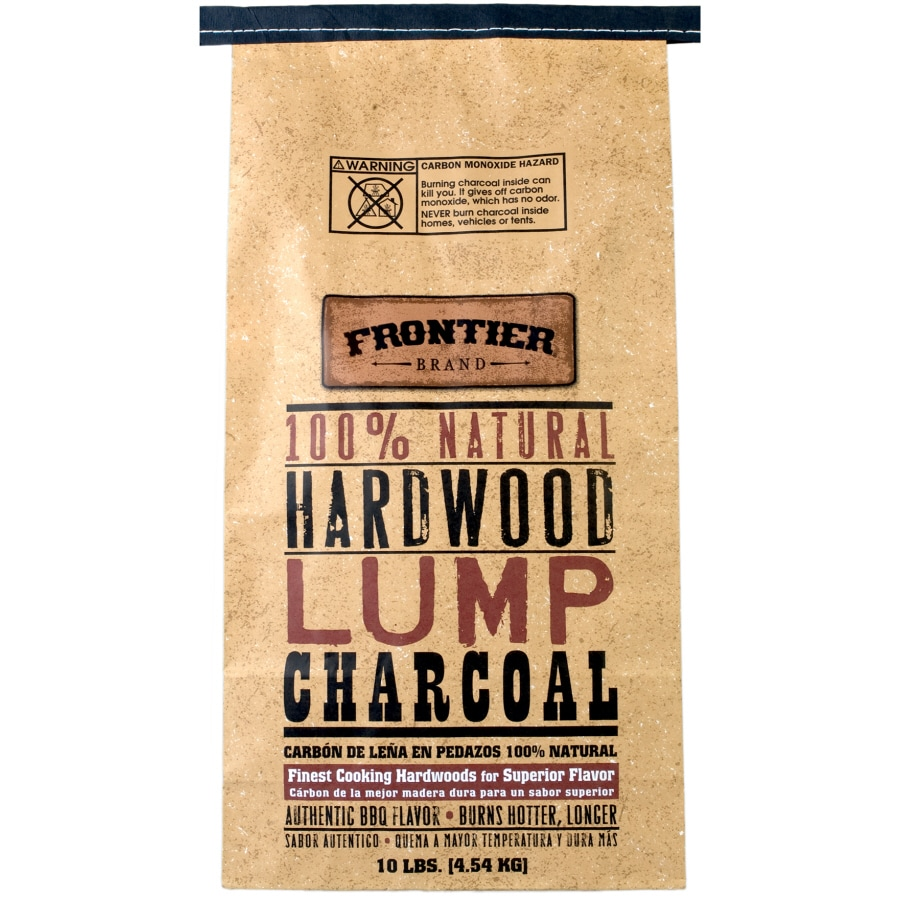 Frontier 10-lb Lump Charcoal