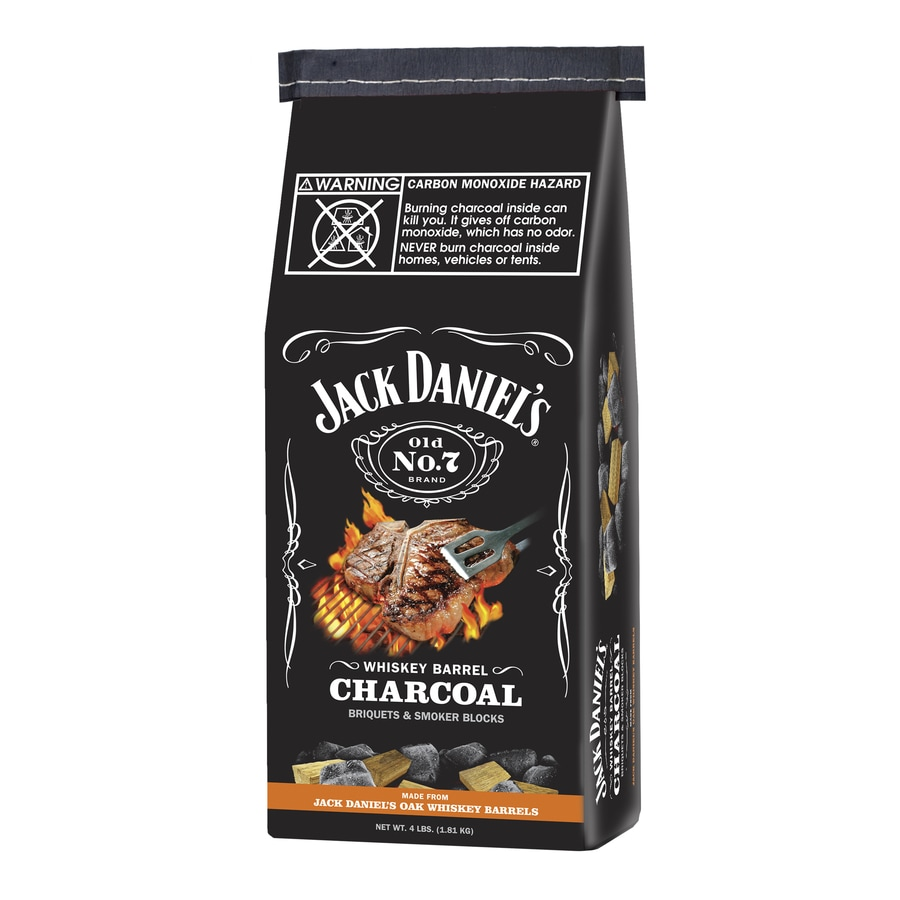 Whiskey Barrel 4-lb Charcoal Briquettes