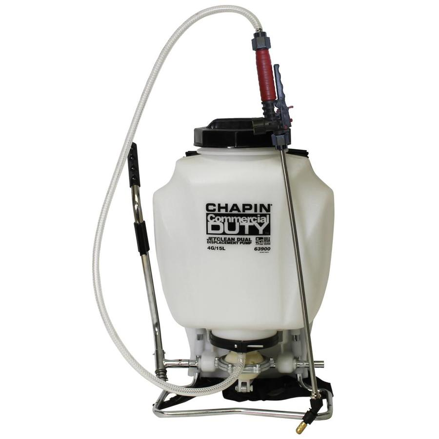 Chapin 4-Gallon Plastic Tank Sprayer with Shoulder Strap