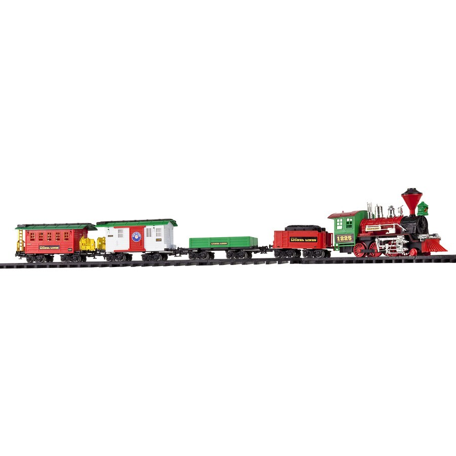Lionel NASCAR Collectables 36-Pack 50-in x 62-in Oval Christmas Adventure Train Set Table Top Decoration
