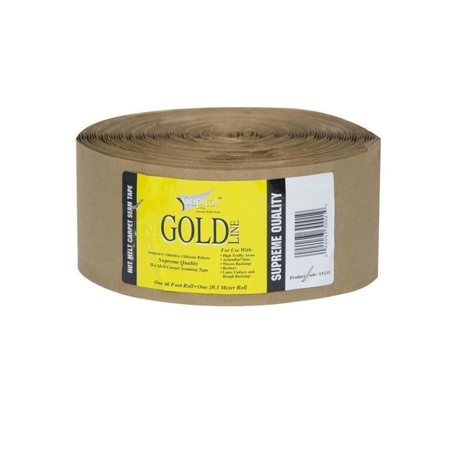 Capitol Gold Line 3.62-in x 66-ft Clear Hot Melt Seam Tape