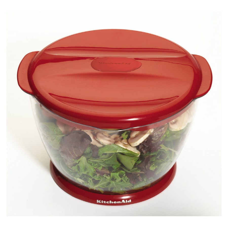 KitchenAid Red Salad and Fruit Spinner at Lowes.com