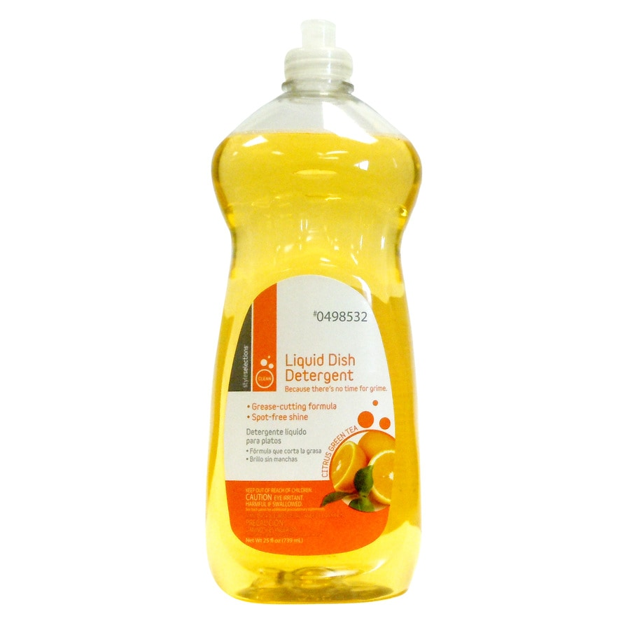 Style Selections 25-oz Citrus Green Tea Dish Soap