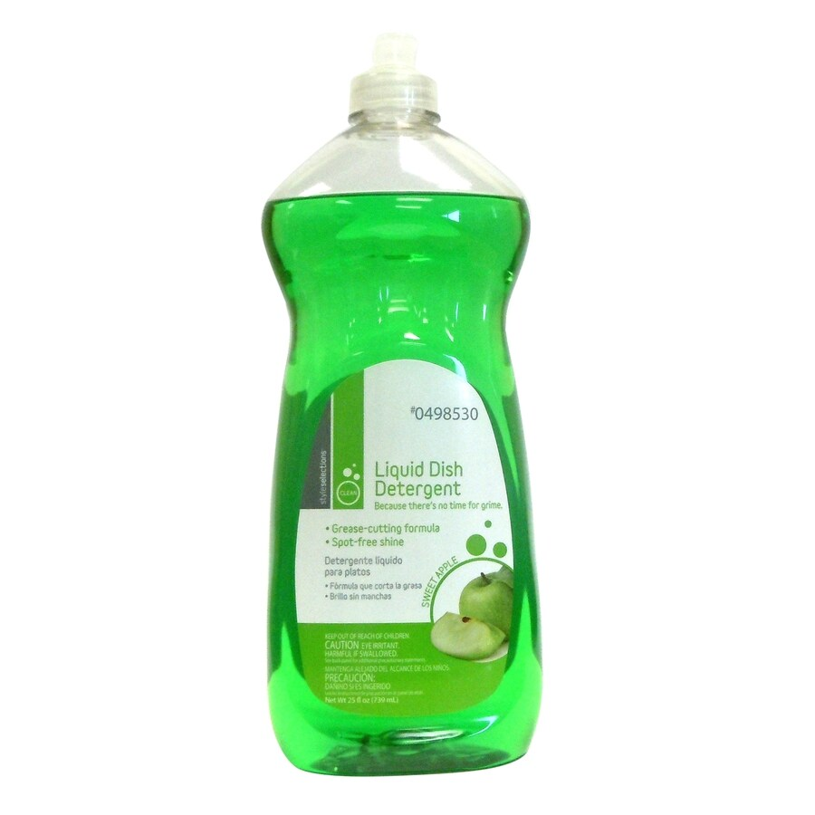 Style Selections 25-oz Sweet Apple Dish Soap