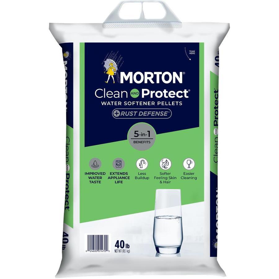 Shop Morton 40 Lb Salt Pellets With Iron Reduction At