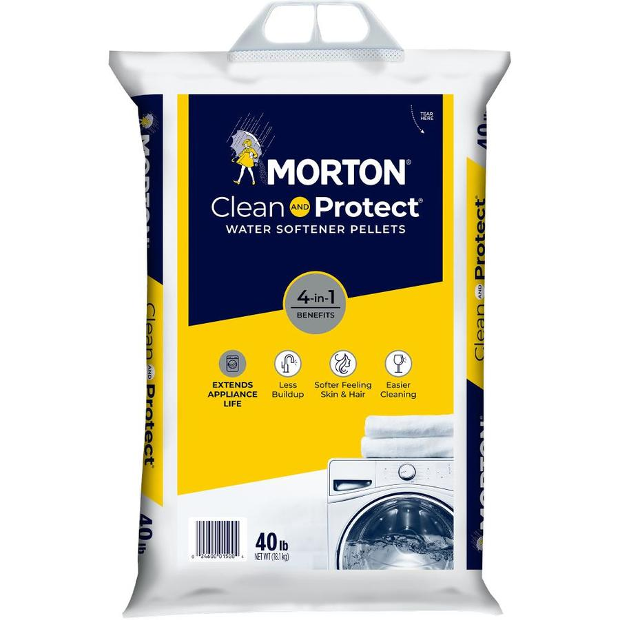 Morton 40-lb Salt Pellets
