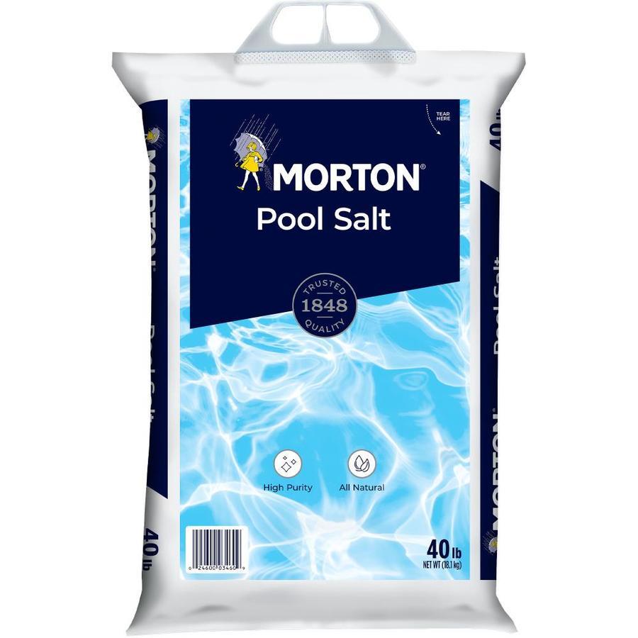 Morton 40-lb Pool Salt