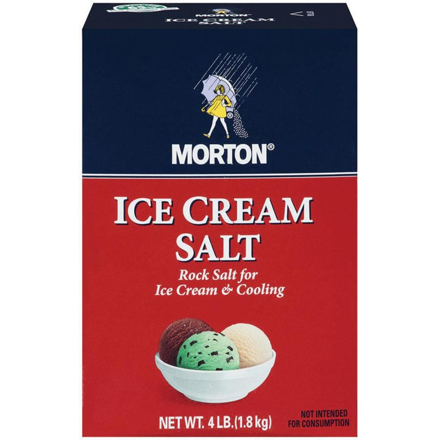 Morton 4-lbs Ice Cream Salt