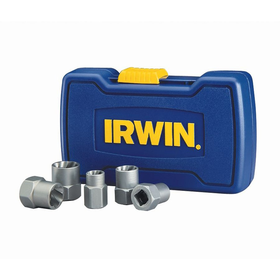 Shop Irwin Bolt Grip 5 Pack Bolt Extractor Set At Lowes Com