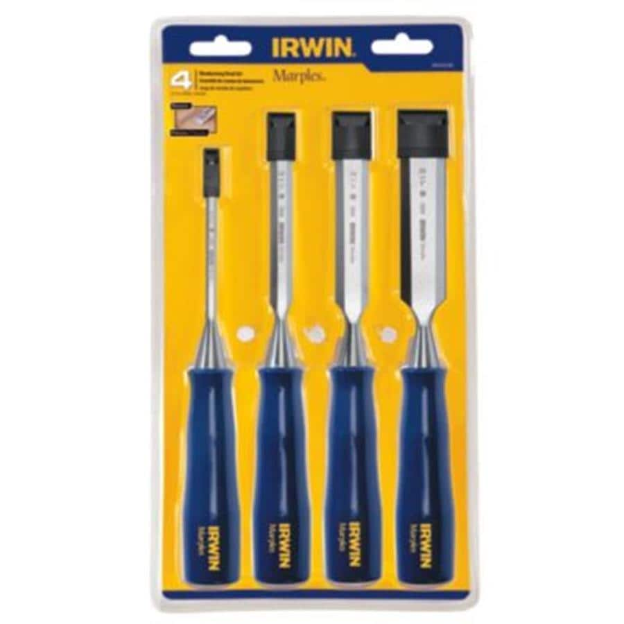 IRWIN Marples 4-Pack Woodworking Chisels Set