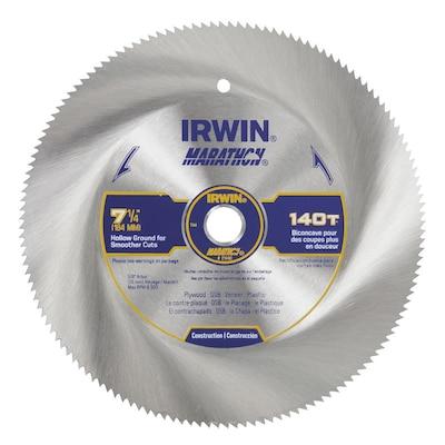 Irwin Marathon 7 1 4 In 140 Tooth