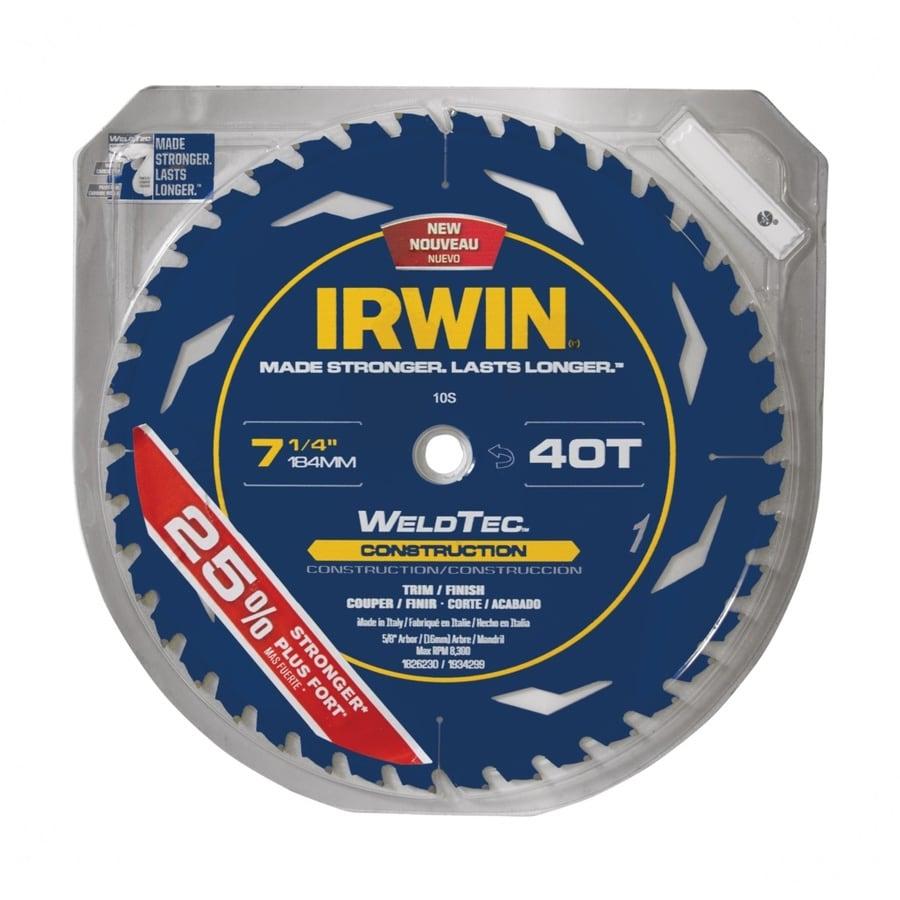 IRWIN Marathon with Weldtec 7-1/4-in Circular Saw Blade
