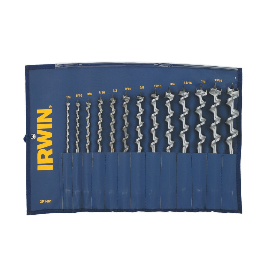 IRWIN 13-Piece Auger Bit Set