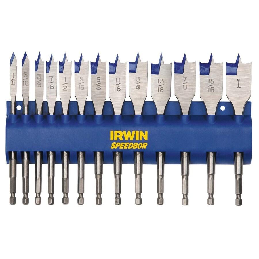 IRWIN 13-Piece Spade Bit Set
