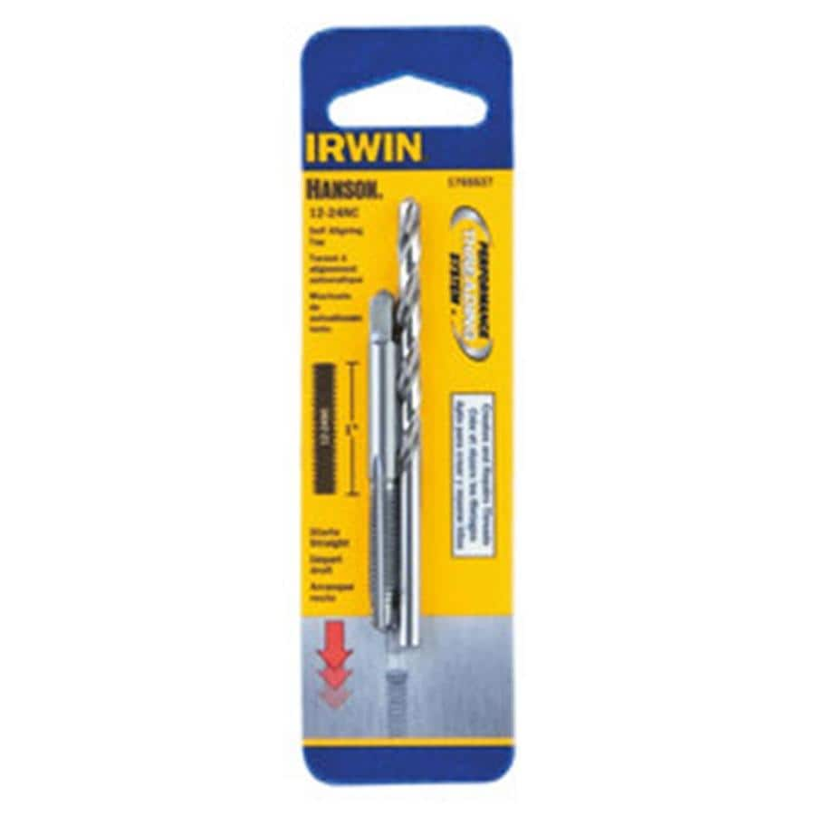 IRWIN HANSON 2-Pack SAE Tap and Drill Set