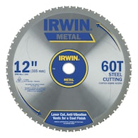Deals on IRWIN 12-in 60-Tooth Segmented Carbide Circular Saw Blade