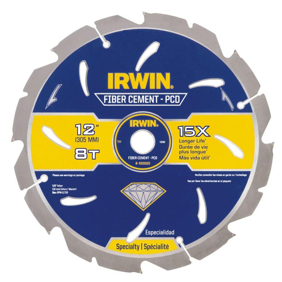 IRWIN 12-in 8-Tooth Standard Carbide Circular Saw Blade