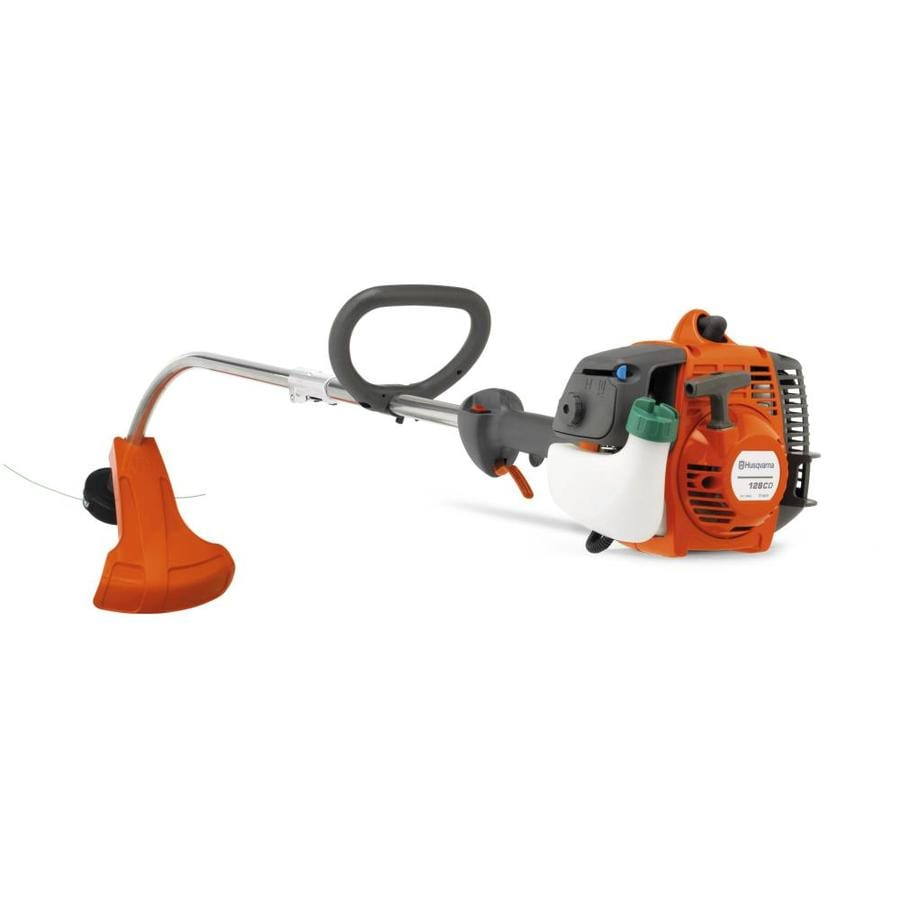 Husqvarna 28-cc 2-Cycle 128CD 17-in Curved Shaft Gas String Trimmer