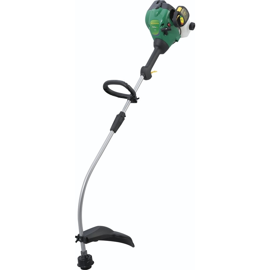 Weed Eater 25cc 2 Cycle 16 In Curved Shaft Gas String Trimmer