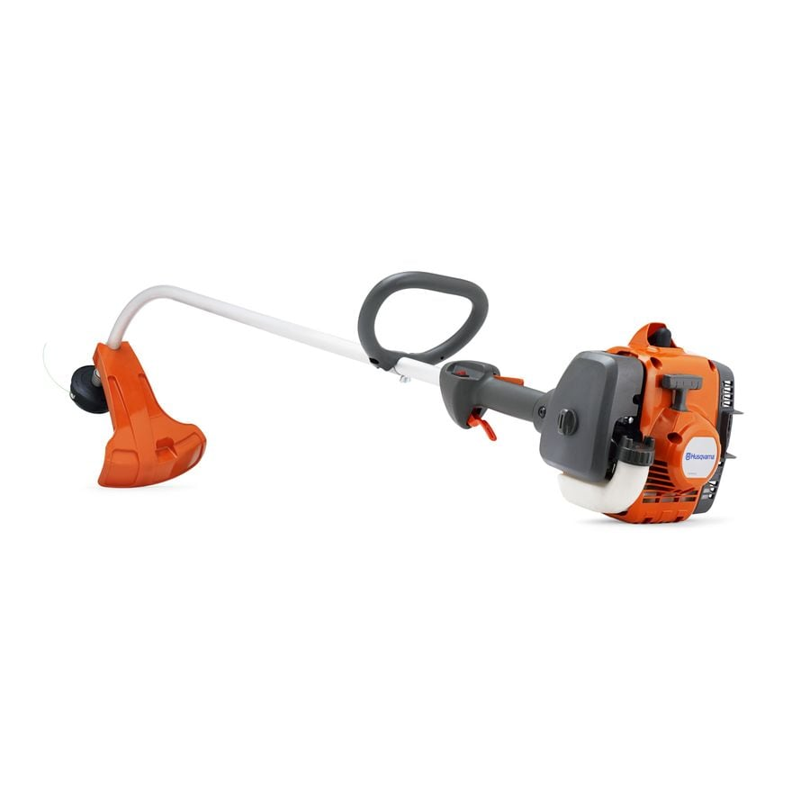 Husqvarna 21.7-cu cm 2-cycle 122C 16-in Curved Shaft Gas String Trimmer