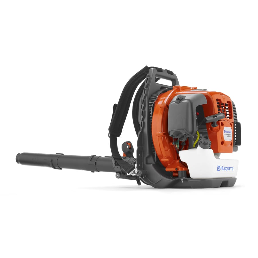 Husqvarna 360BT 65.6cc 2-Cycle 232-MPH 890-CFM Professional Gas Backpack Leaf Blower