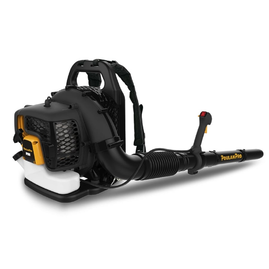 Poulan Pro PR46BT 46-cu cm 2-cycle 220-MPH490-CFM Heavy-duty Gas Backpack Leaf Blower