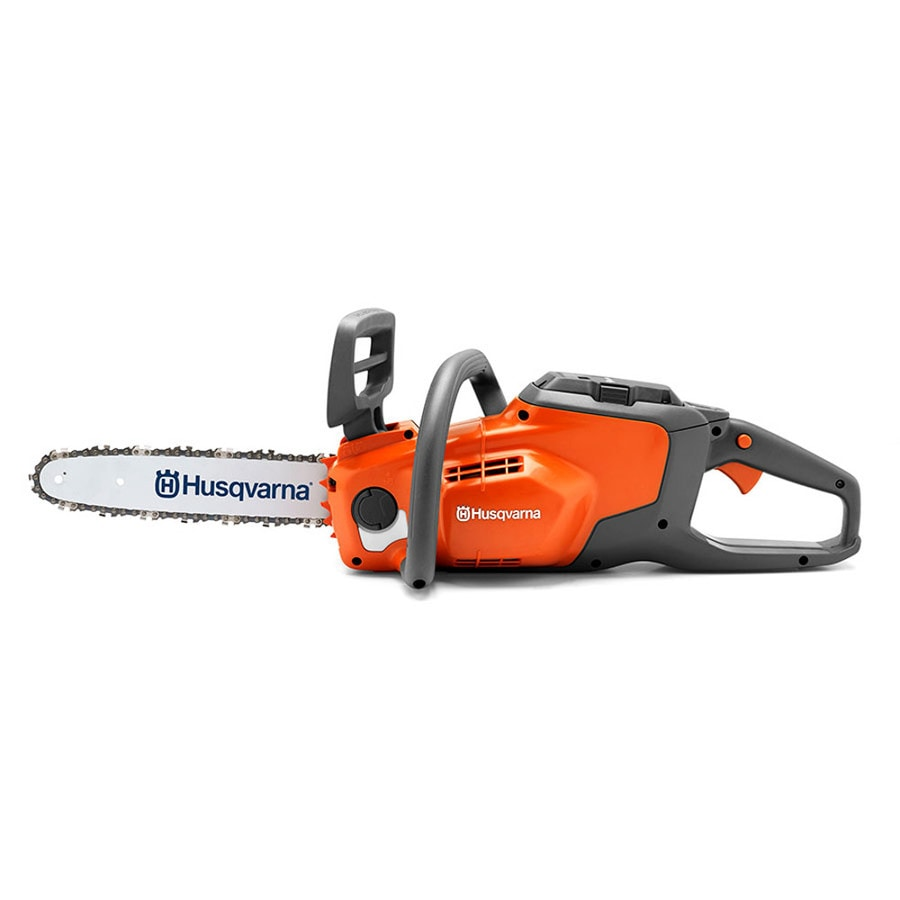 Husqvarna 120i 40-Volt Max Lithium Ion (Li-ion) 14-in Brushless Cordless Electric Chainsaw (Battery Not Included)