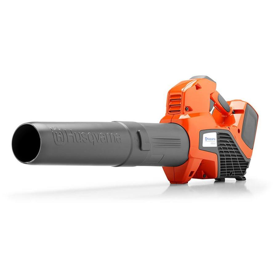Husqvarna 320iB 40-volt Max Lithium Ion 412-CFM 103-MPH Medium-Duty Brushless Cordless Electric Leaf Blower (Battery Included)