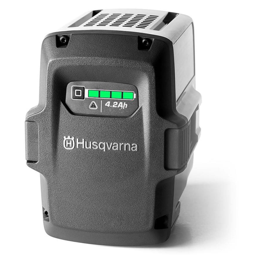 Husqvarna 40-Volt 4.2-Amp Hours Rechargeable Lithium Ion (Li-ion) Cordless Power Equipment Battery