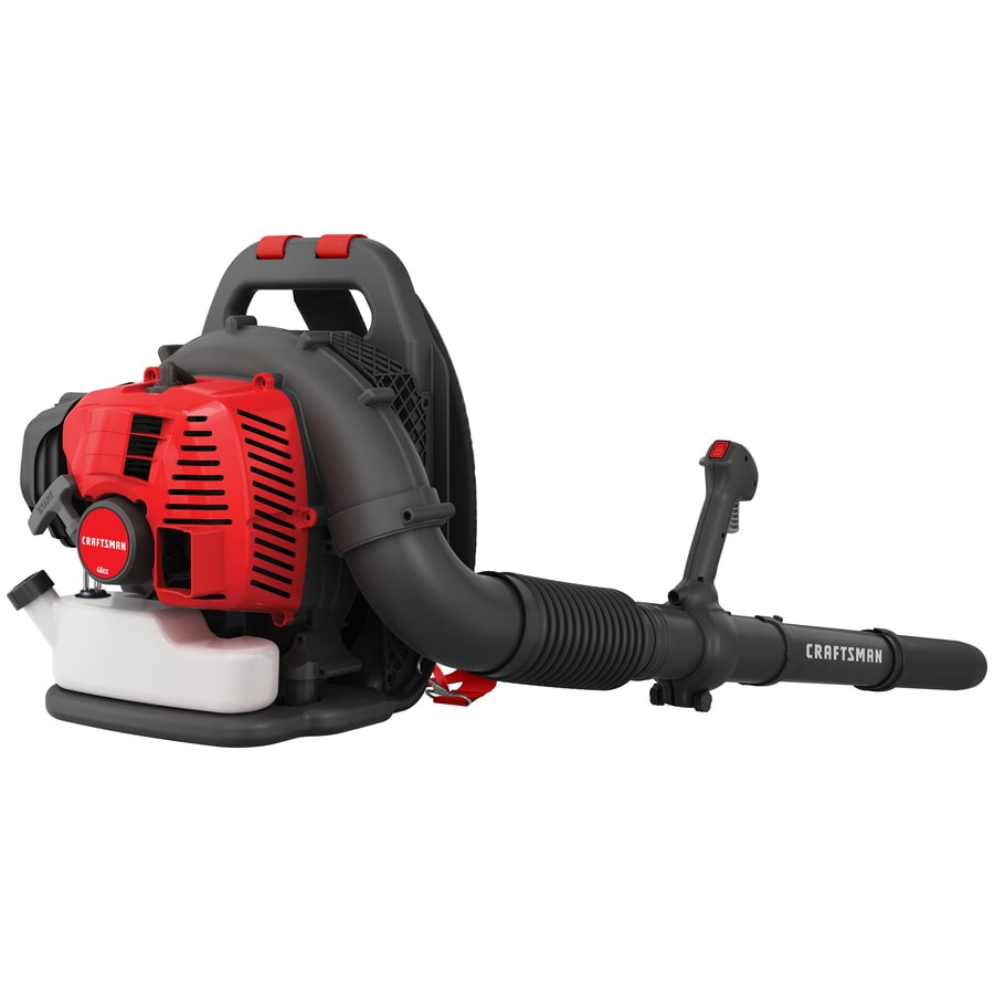 CRAFTSMAN 46-cc 2-cycle 220-MPH 490-CFM Gas Backpack Leaf Blower