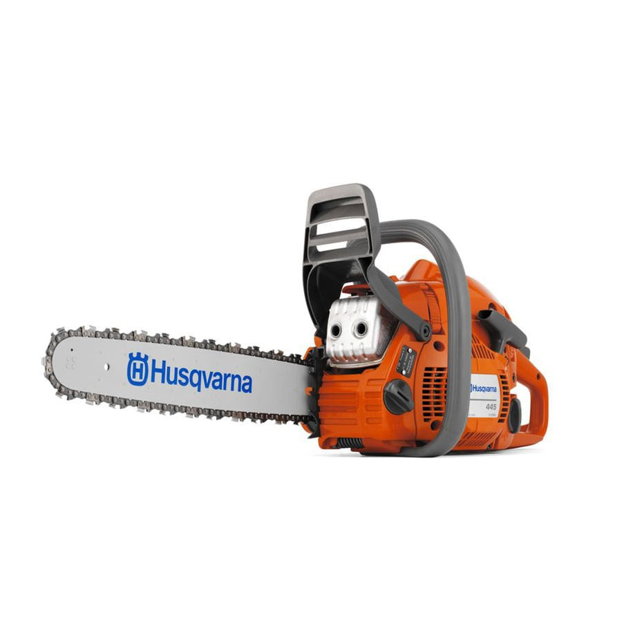 Husqvarna 445 45.7-cu cm 2-cycle 18-in Gas Chainsaw