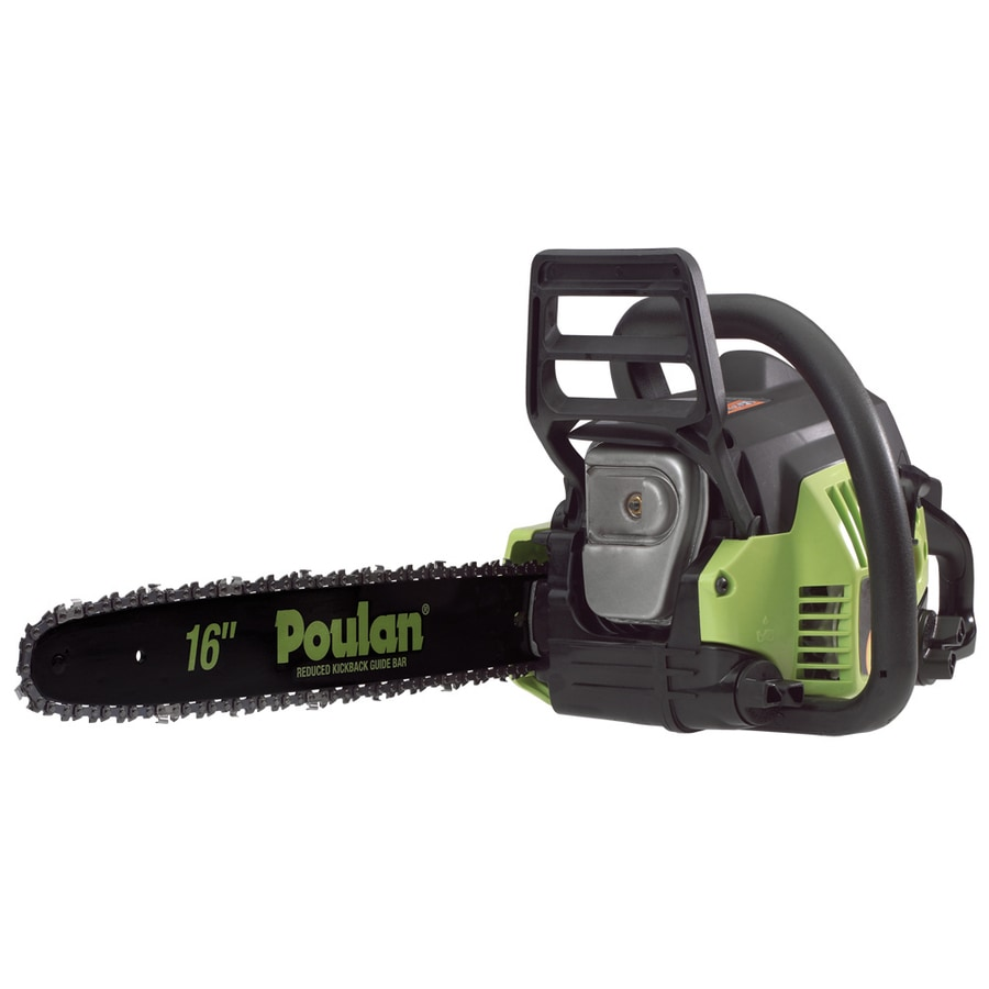 Poulan 38-cc 2-cycle 16-in Gas Chainsaw with Case