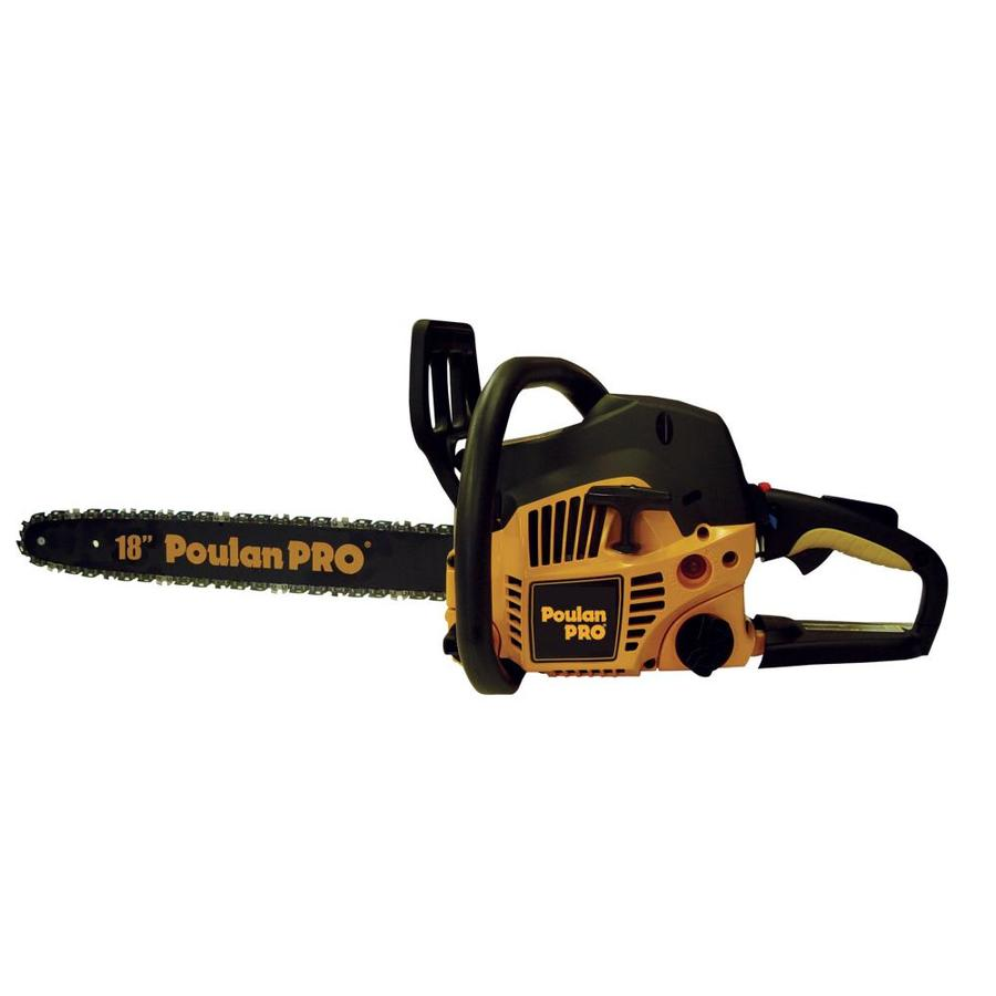 Poulan Pro 42cc 2-Cycle 18-in Gas Chainsaw Case Included