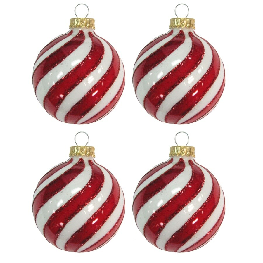 Holiday Living White/Red Ornament Set Lights at Lowes.com