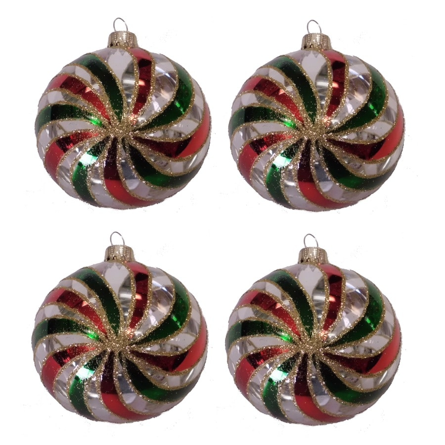 Holiday Living Clear/Red/Green Ornament Set Lights