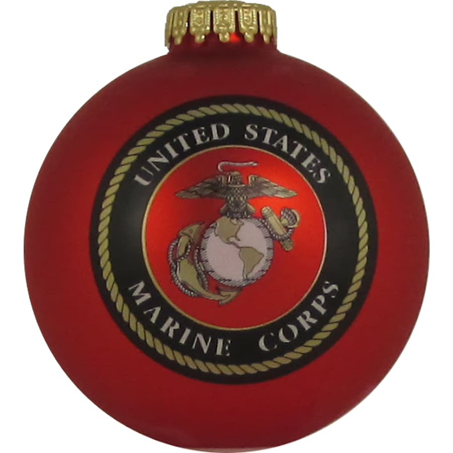 Red Shiny Marines Ornament