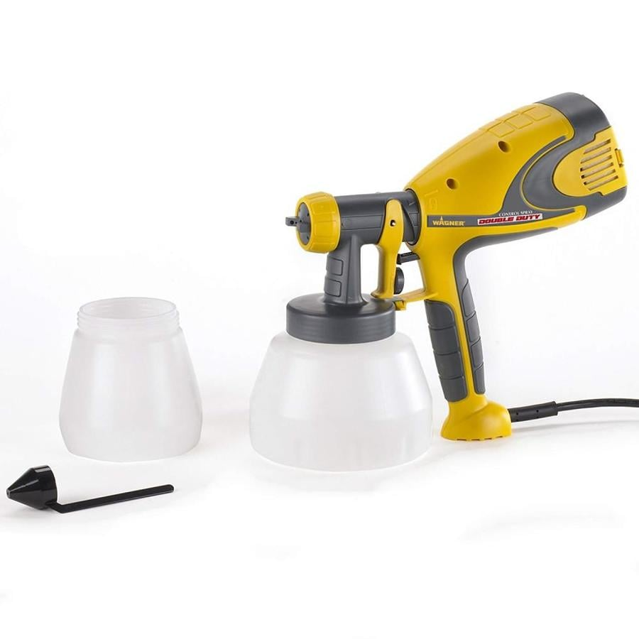 Wagner Control Spray Double Duty Cup Fed 4-PSI Handheld High-Volume Low-Pressure Paint Sprayer
