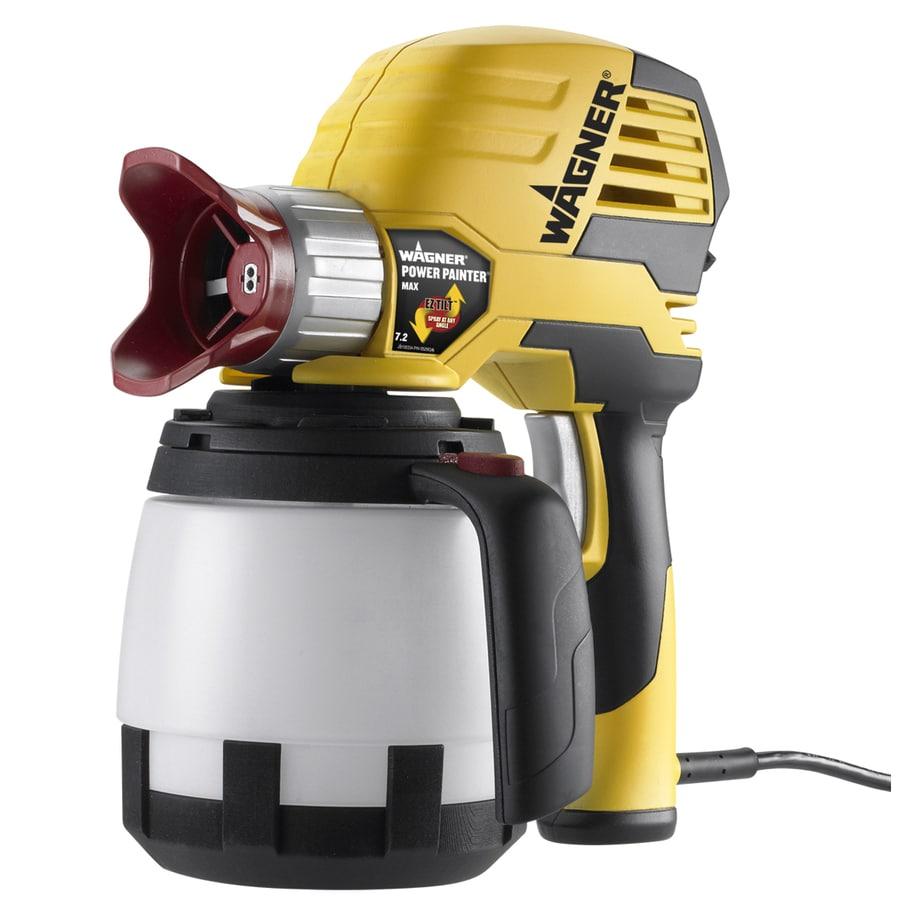 Wagner Power Painter Max 7.2 GPH with EZ Tilt Electric Handheld Airless Paint Sprayer