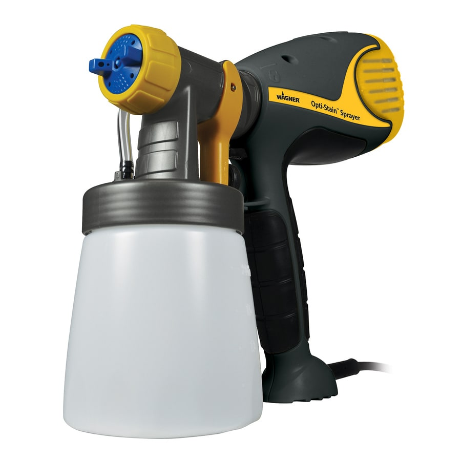 Wagner Opti-Stain 4-PSI Handheld High-Volume Low-Pressure Paint Sprayer