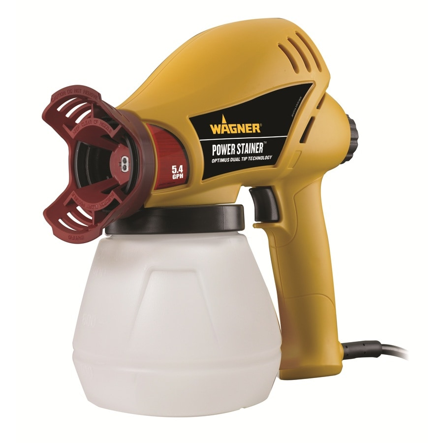 Wagner Power Stainer Electric Handheld Airless Paint Sprayer