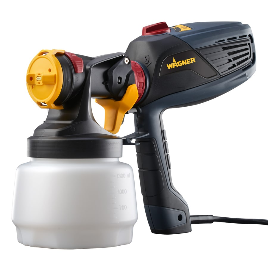 shop wagner flexio 2000 handheld hvlp paint sprayer at