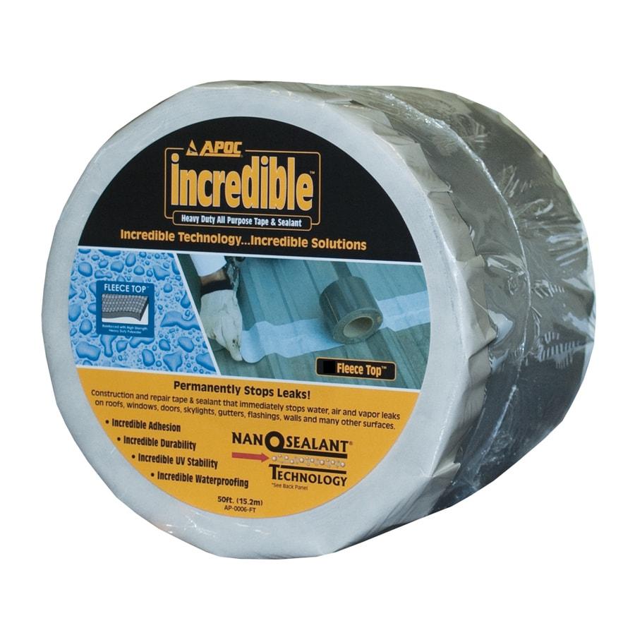 Shop APOC Incredible Tape 0.33-ft W x 50-ft L 16.6-sq ft Fleece-top ...