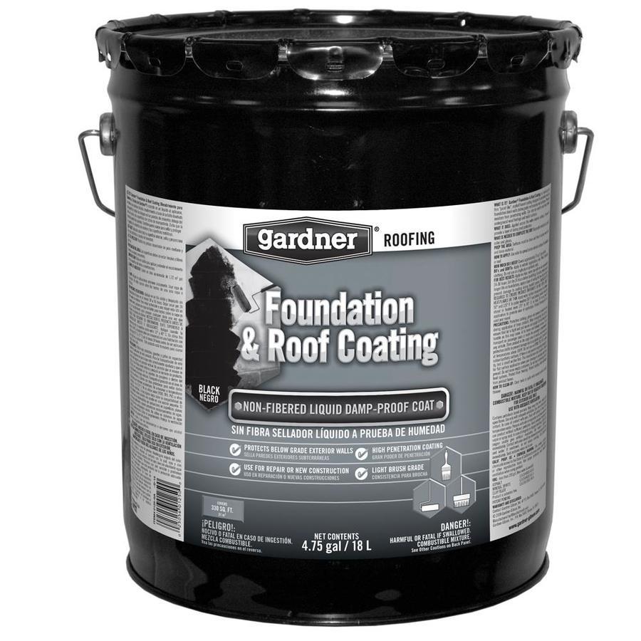 Gardner Black Flat Waterproofer (Actual Net Contents: 608 Fl Oz)