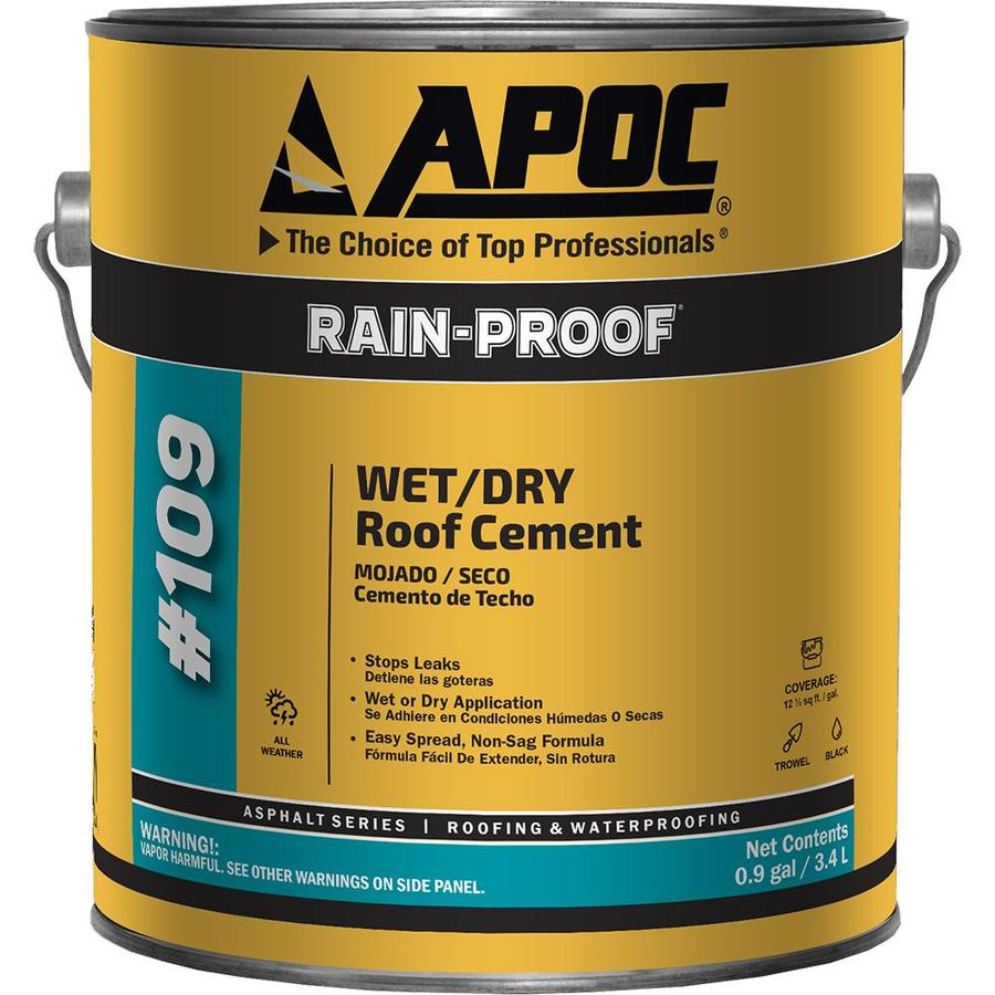 Apoc Rain Proof 0 9 Gallon Fibered Waterproof Cement Roof