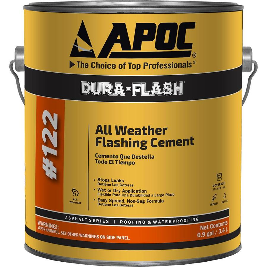 Apoc Dura Flash 0 9 Gallon Fibered Waterproof Cement Roof