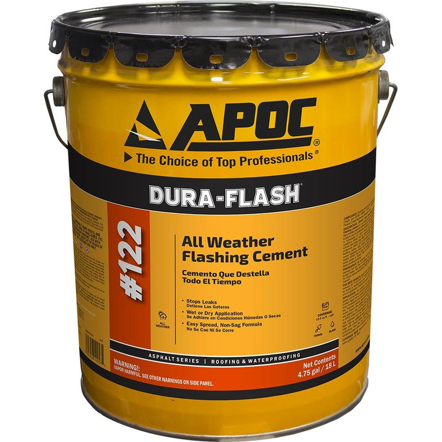 Apoc Dura Flash 4 75 Gallon Fibered Waterproof Cement Roof