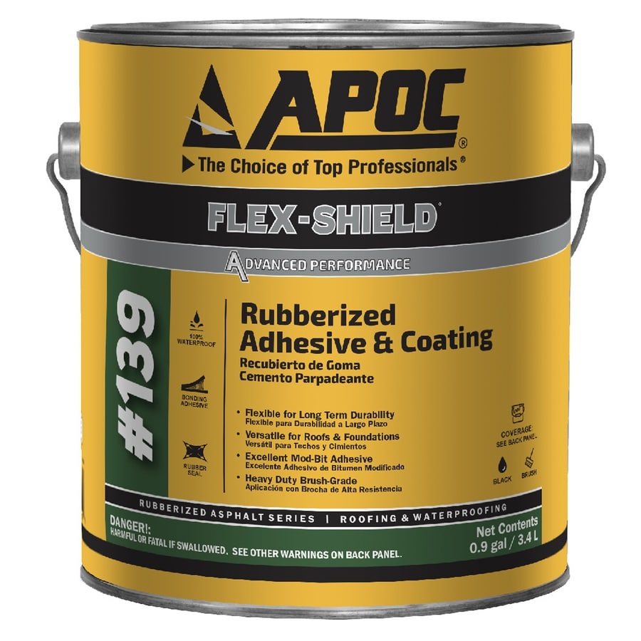 Apoc Flex Shield Ultra 0 9 Gallon Waterproof Roof Sealant