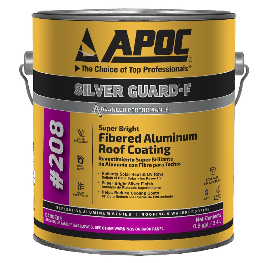 Shop Apoc Silver Guard F 0 9 Gallon Aluminum Reflective