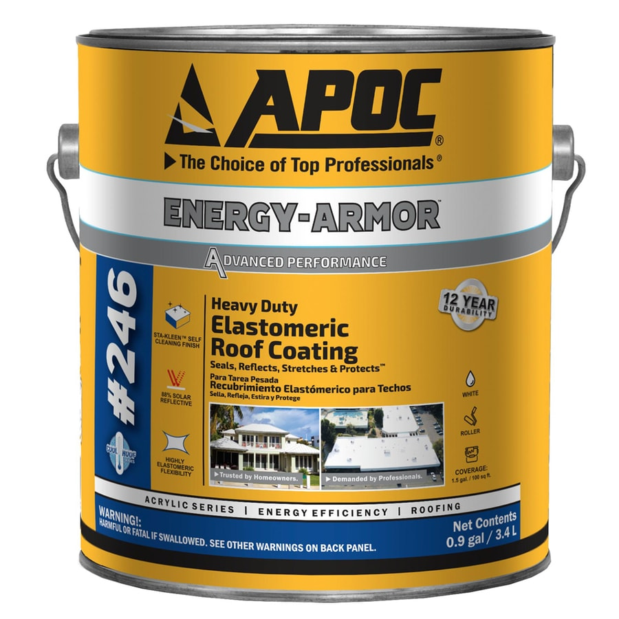 Shop Apoc Kool Armor 0 9 Gallon Elastomeric Reflective